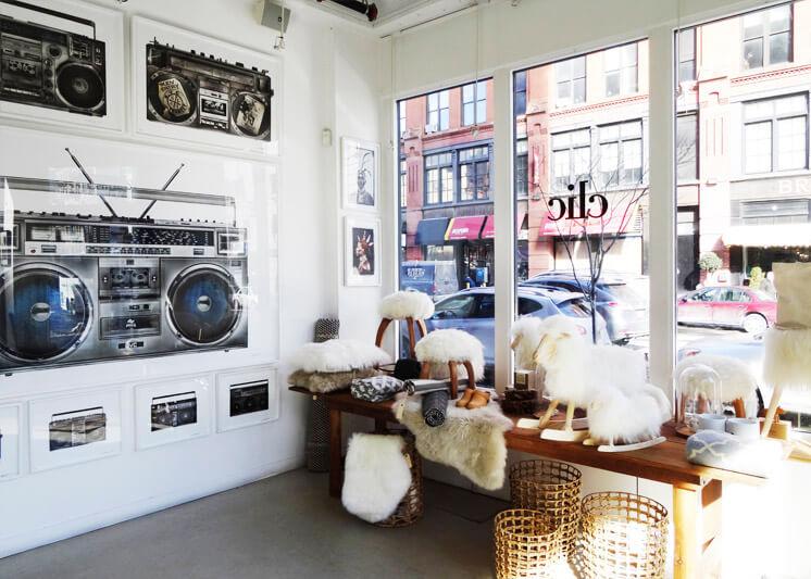 Clic Gallery General Store indow Est Magazine