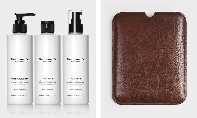 Gentlemans Brand Co The Daily Regime Rodd and Gunn Authentic Mini Tablet Sleeve Est Magazine