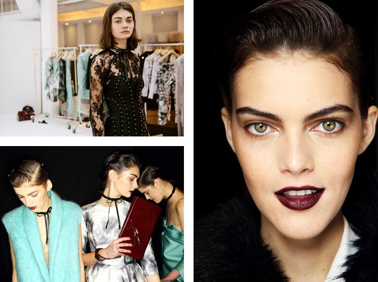 New York Fashion Week Zimmerman Fall NYFW 2014 Backstage Est Magazine