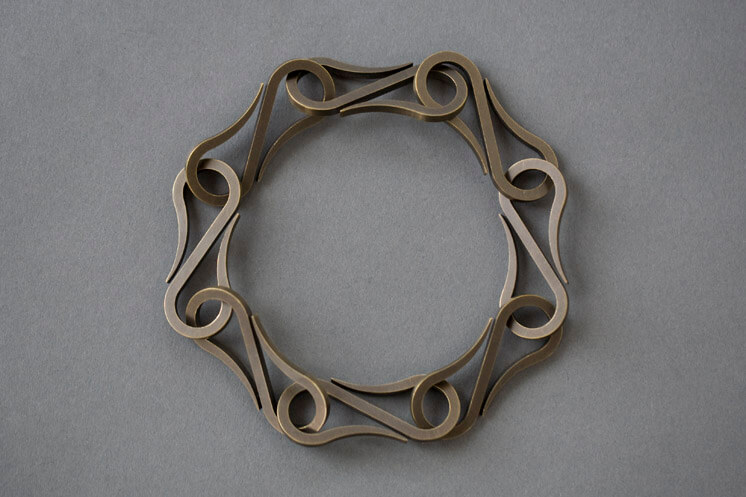 Product E. R. Butler Co. Designs Slip Chain Satin ANtique Brass Medium 8772