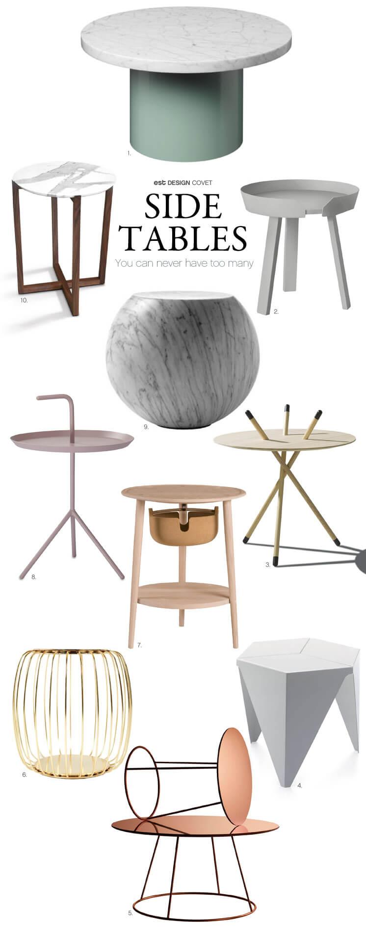 Side Tables Design Covet Sophie Carr Est Magazine