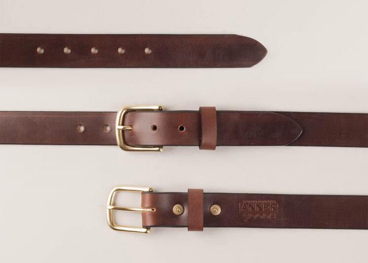 Tannergoods Classic Belt Russet Est Magazine