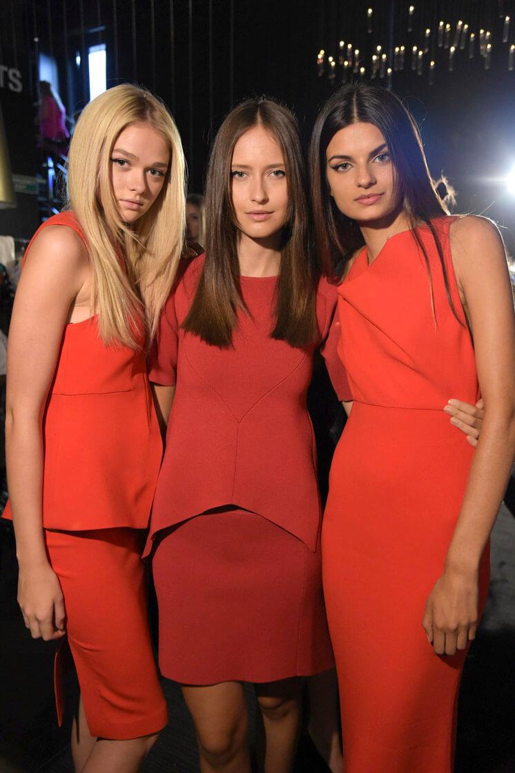 Backstage Melbourne Fashion Festival The Rise of Monochrome © Lucas Dawson Est Magazine