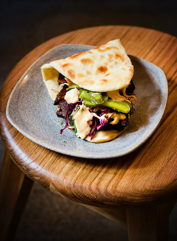 "Chilli Fried Egg amp Bacon on Brioche Bun AKA ""The Merchant"" The Three Williams Redfern Est Magazine"