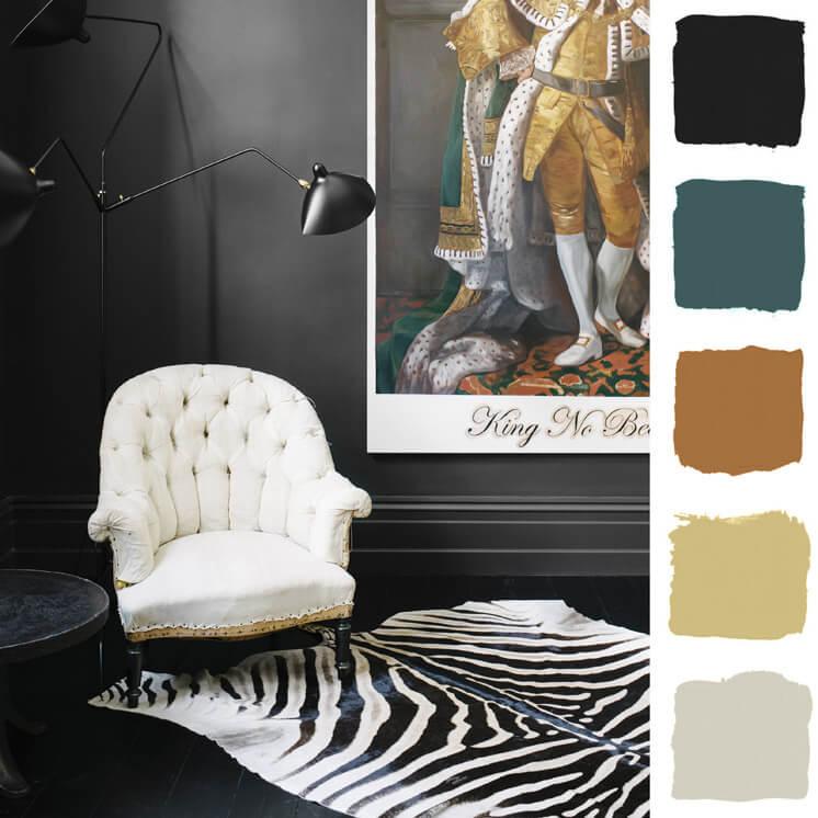 Living Room Colour Chronicles Jane and Simon Hayman Bauwerk Colour © Brooke Holm Est Magazine