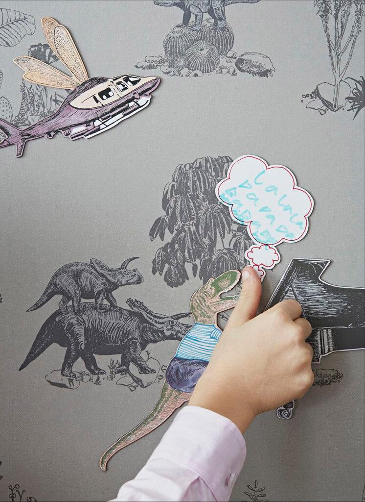 Singing Croc Magnetic Dino Wallpaper Sian Zeng © Jon Day Est Magazine