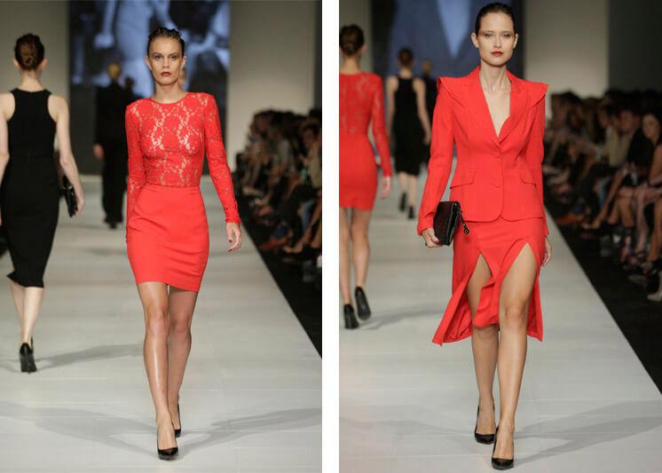 Yeojin Bae Melbourne Fashion Festival The Rise of Monochrome © Lucas Dawson Est Magazine