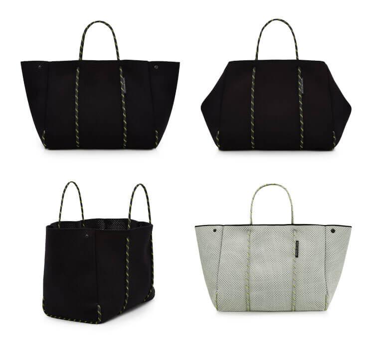 Grey black bags State of Escape Est Magazine1