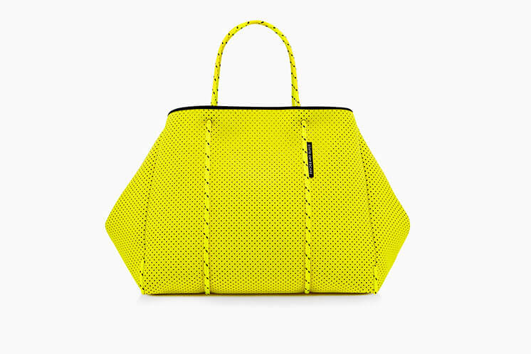 Yellow bag State of Escape Est Magazine
