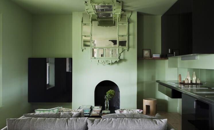 green wall drifthouse Est Magazine