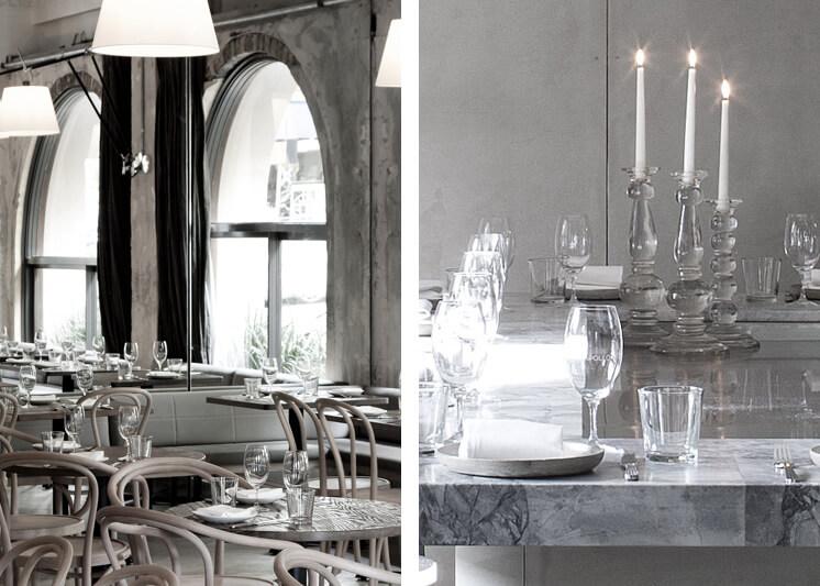 Est Magazine Apollo Restaurant Sydney interior