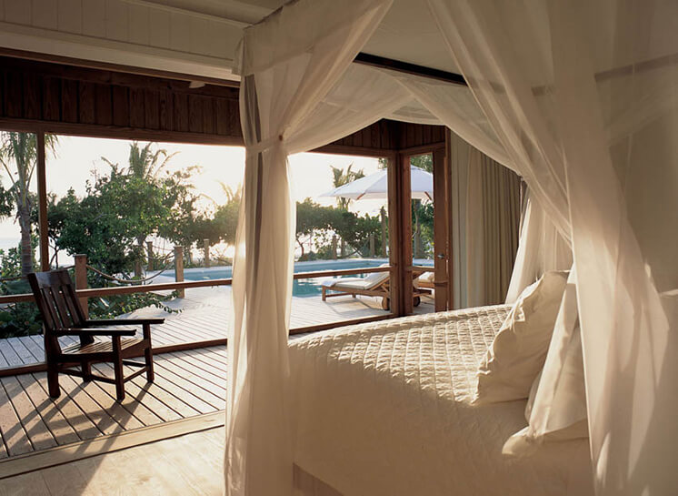 Parrot Cay Guest Villa Bedroom PosrImage