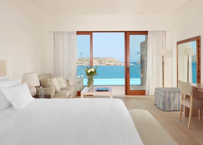 Winter Resort Getaways Blue Palace Resort Bungalows Sea View Bedroom