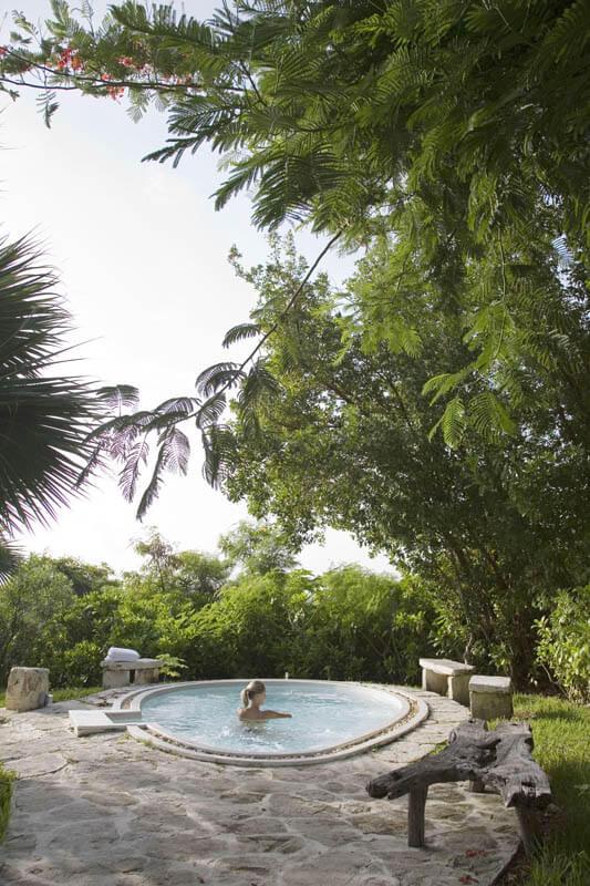 Winter Resort Getaways Parrot Cay Hot Tub