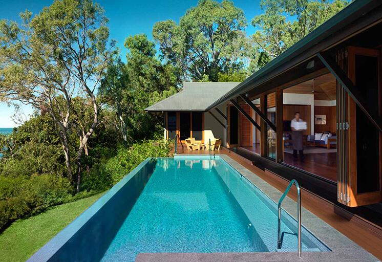 qualia beach house private lap pool