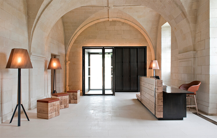 Est Magazine Abbaye de Fontevraud lobby Nicolas Matheus 05