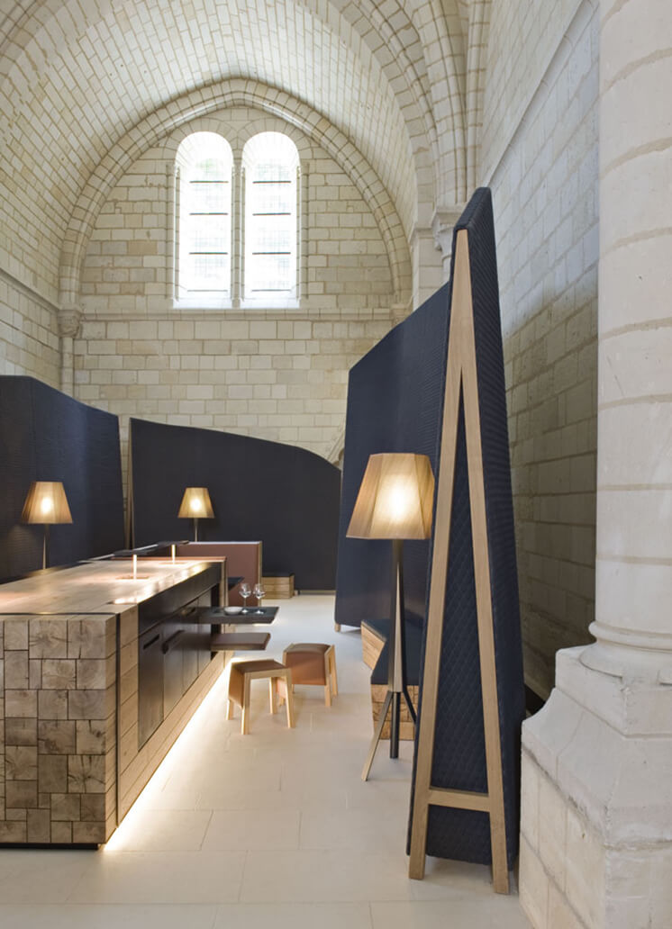 Est Magazine Abbaye de Fontevraud photo Nicolas Matheus