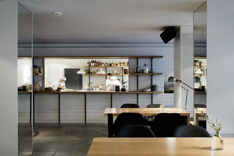 Est Magazine Ana la Santa Madrid ME Hotel Interiors kitchen