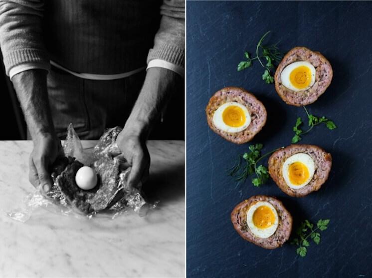 Est Magazine Fat Radish Kitchen Diaries ScotchEgg Nicole Franzen