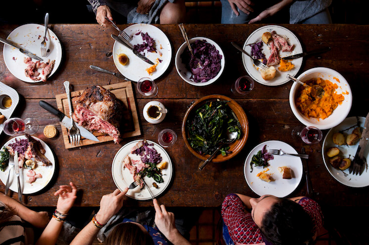 Est Magazine Fat Radish nyc Cookbook table Nicole Franzen