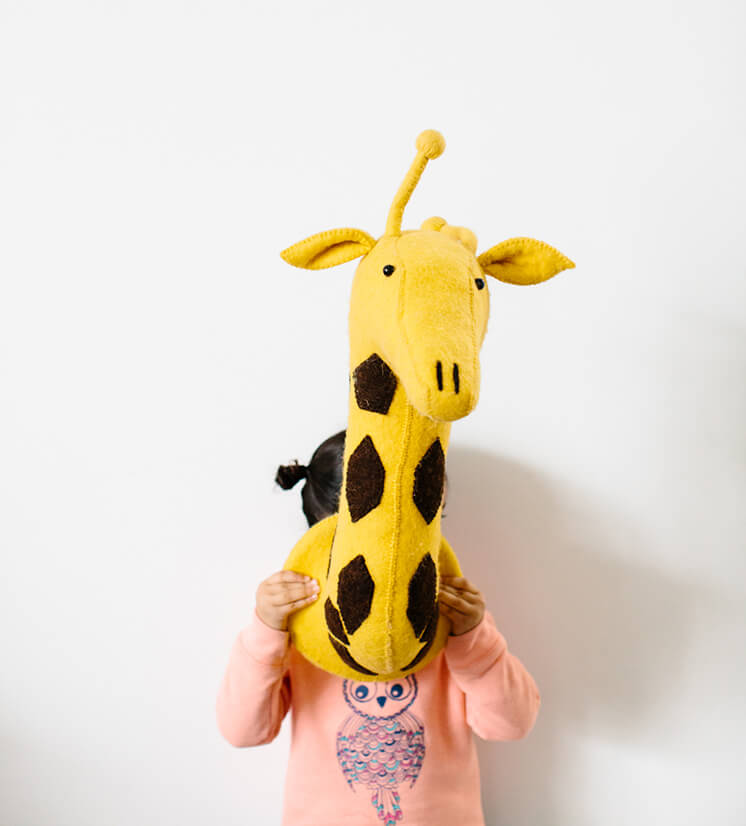 Est Magazine Megan Morton Inky Giraffe