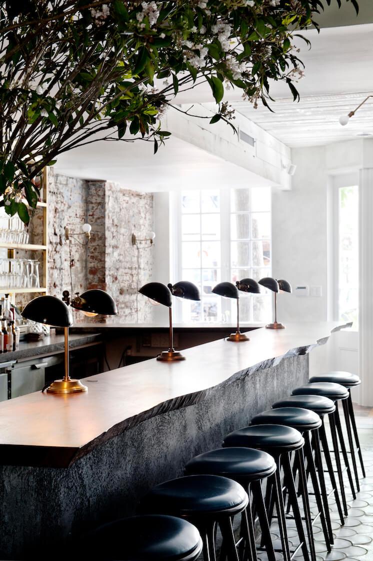 Est Magazine Musket Room NYC Interiors bar