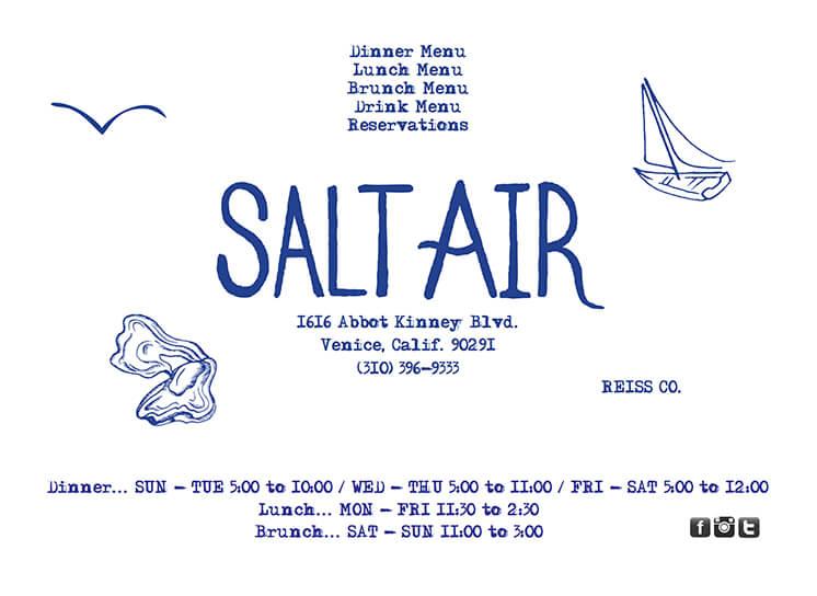 Est Magazine Salt Air Bistro