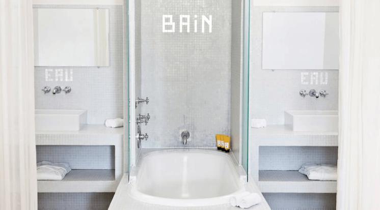 Est Magazine Hotel White 1921 St Tropez bathroom 02