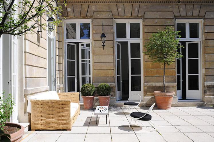 Est Magazine Joseph Dirand Paris patio Adrien Dirand
