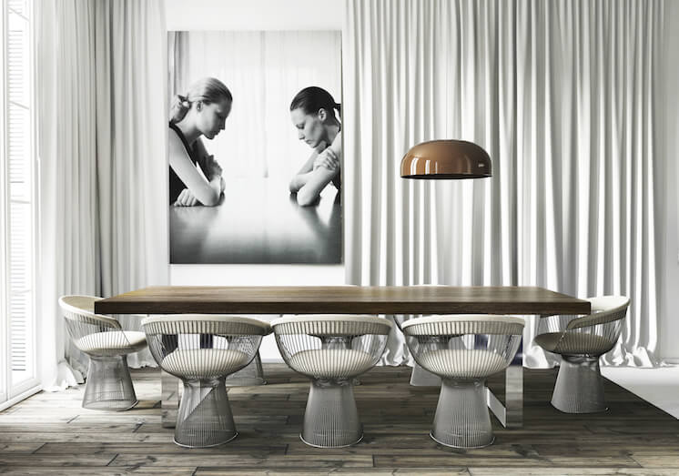 Dining | Barcelona Apartment by Katty Shiebeck