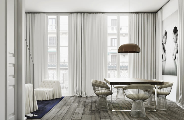 Est Magazine Katty Shiebeck Barcelona Apartment