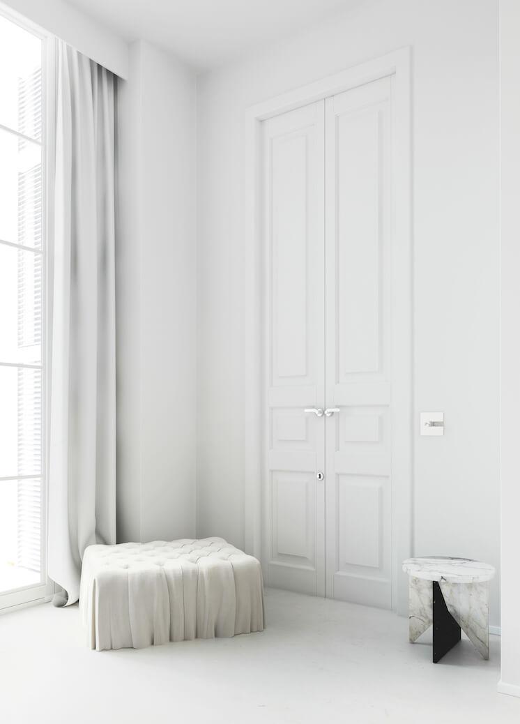 Est Magazine Katty Shiebeck Barcelona bedroom