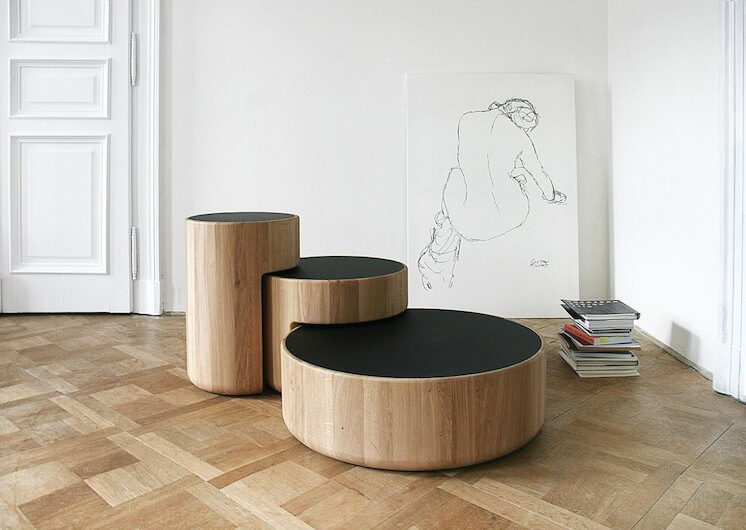 Est Magazine Lucie Koldova Levels furniture design