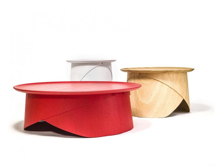Est Magazine Lucie Koldova furniture design wrap tables