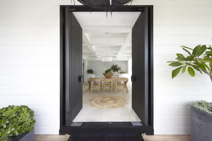 Est Magazine Mosman Front door