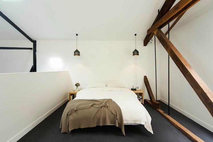 Est Magazine Regent Street Warehouse bedroom