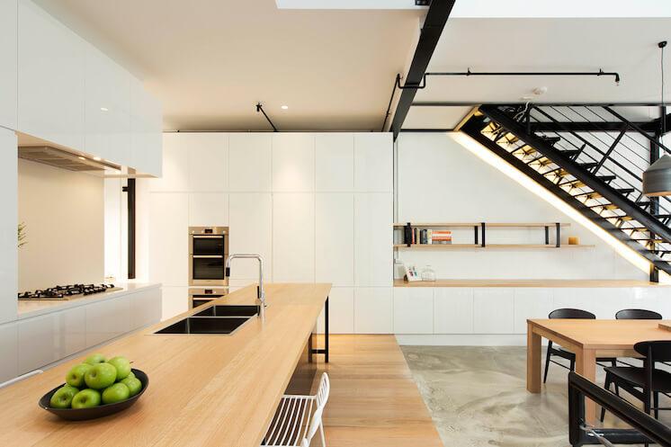 Est Magazine Regent Street Warehouse kitchen 01