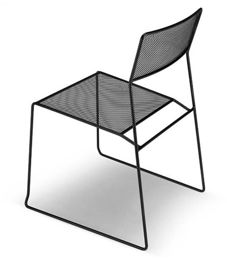 Est Mag black on black chair