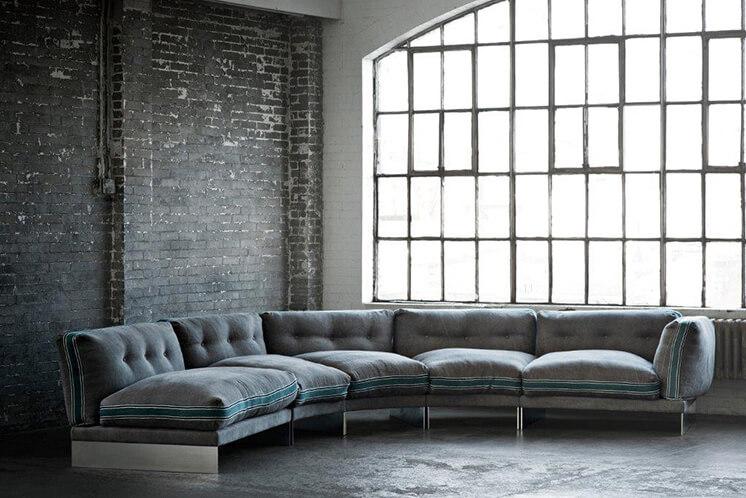 Est Magazine Ochre eternal dreamer modular sofa 90cm