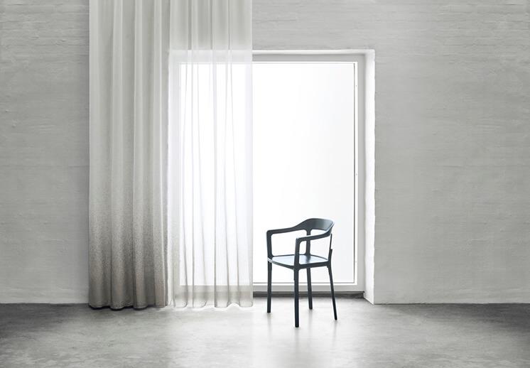Est Magazine Kvadrat Drizzle 141 Curtain Fabric