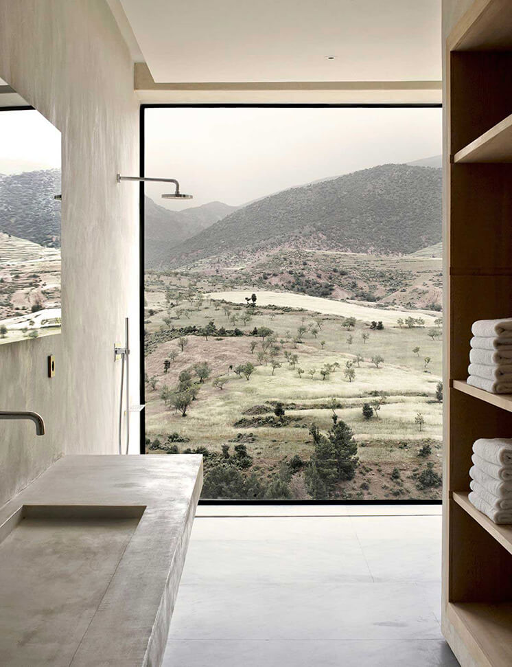 Est Magazine Villa E by Studio Ko Bathroom