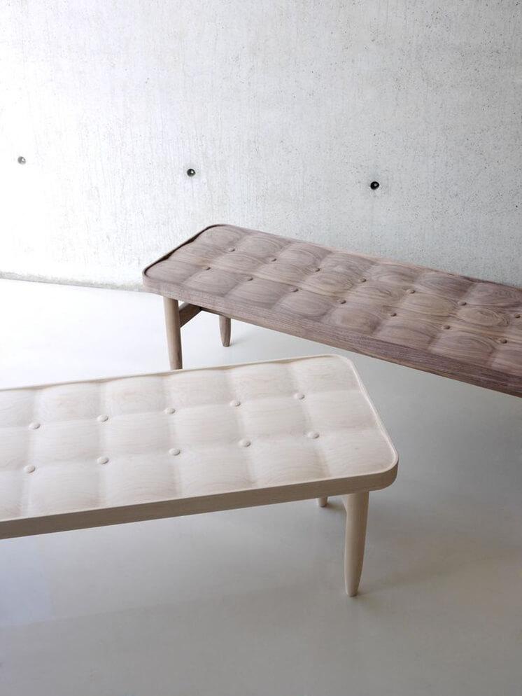 Est Magazine carved upholstery Ruskasa