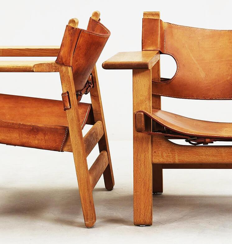 Est Magazine Borge Mogensen Spanish Chair