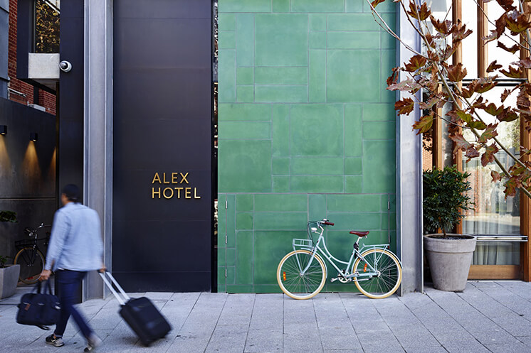 Est Magazine Alex Hotel Reception