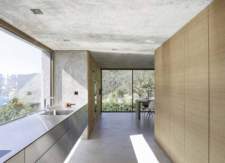 Kitchen | Lake House by Wespi de Meuron