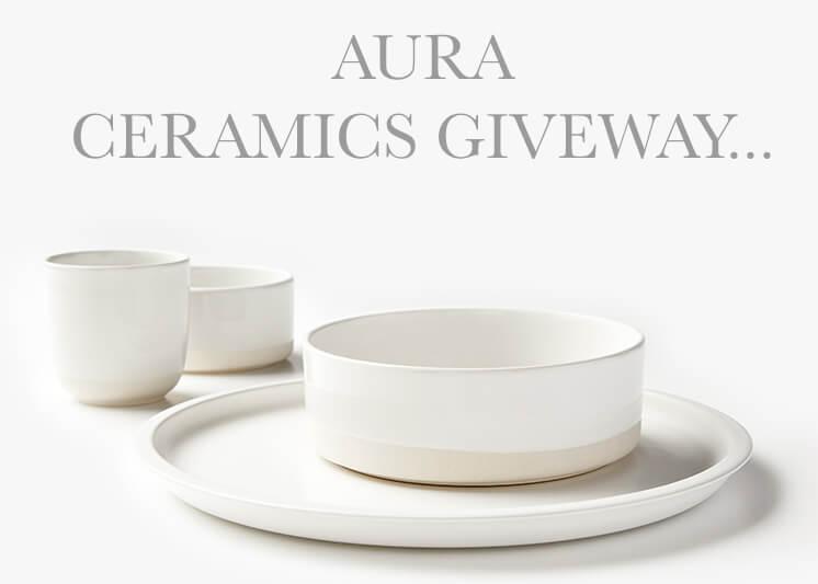 AURA Stoneware | Giveaway