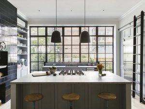 Kitchen | New York Brownstone by Elizabeth Roberts Architects