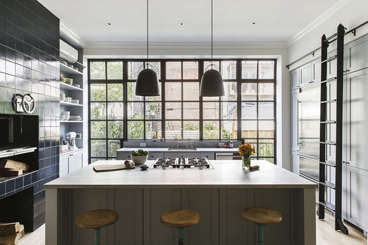 Kitchen | New York Brownstone by Elizabeth Roberts Architects