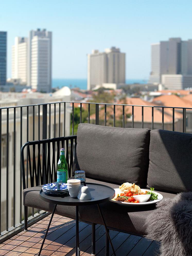 Est Magazine Tel Aviv Balcony