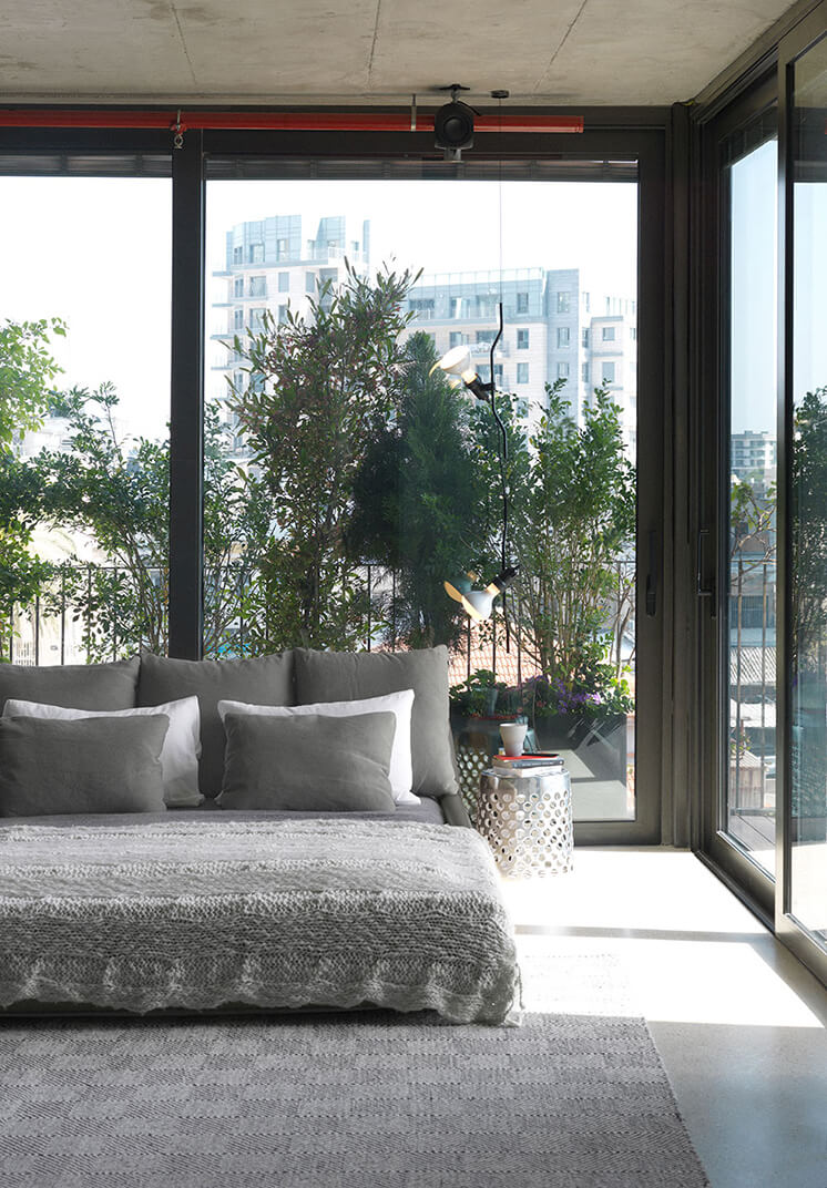 Est Magazine Tel Aviv Bedroom